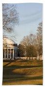 The Lawn University Of Virginia Bath Towel