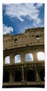 The Majestic Coliseum - Rome Bath Towel