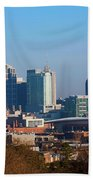 The Nashville Skyline As Viewed Bath Towel