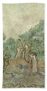 The Olive Orchard Bath Towel