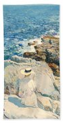 The South Ledges Appledore Bath Towel