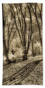 The Spring Forest Bath Towel