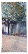 The White Picket Fence Bath Towel