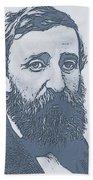 Thoreau Bath Towel