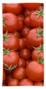 Tomato On The Vine Bath Towel