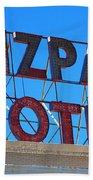 Tonopah Nevada - Mizpah Hotel Bath Towel