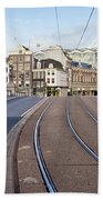 Transport Infrastructure In Amsterdam Bath Towel