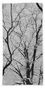 Tree Branches Bath Towel