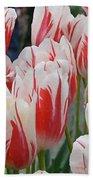 Tulips 8 Bath Towel