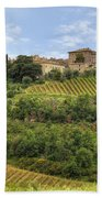 Tuscany - Castelnuovo Dell'abate Bath Towel