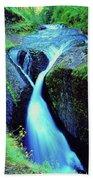 Twister Falls  Bath Towel