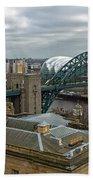 Tyne Bridge Bath Towel