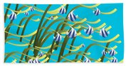 Underwater Life Bath Towel
