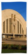 Union Terminal, Cincinnati Bath Towel