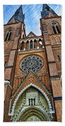 Uppsala Cathedral - Sweden Bath Towel
