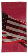 Us Flag Bath Towel