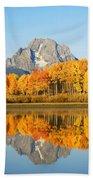 Usa, Grand Teton National Park Wyoming Bath Towel