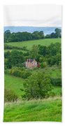 View From Glastonbury Tor Bath Towel