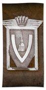 Vignale Emblem Bath Towel