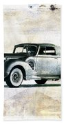 Vintage Car Bath Towel
