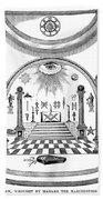 Washington Masonic Apron Hand Towel