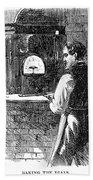 Watchmaker, 1869 Bath Towel