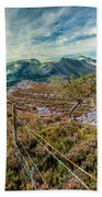 Welsh Mountains Bath Towel