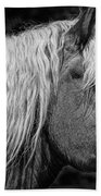 Western Horse In Alberta Canada Bath Towel