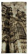 Westminster Abbey London Vintage Bath Towel