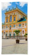 Wilanow Palace In Warsaw Poland Bath Towel