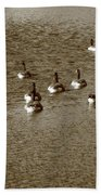 Wild Birds And Pond Bath Towel