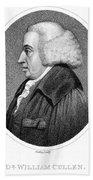 William Cullen (1710-1790) Bath Towel