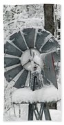 Winter Wind  Bath Towel