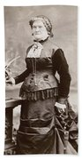 Women's Fashion, 1880s Bath Towel