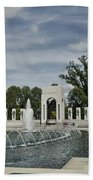World War 2 Memorial Bath Towel