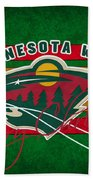 Minnesota Wild Bath Towel