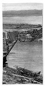 Panama Canal, C1910 Bath Towel
