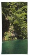 Plitvice Lakes National Park Croatia Bath Towel