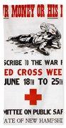 Red Cross Poster, C1917 Bath Towel
