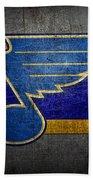 St Louis Blues Bath Towel