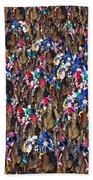 1000 Horses Bath Towel
