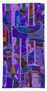 1022 Abstract Thought Bath Towel
