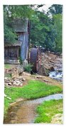 Sixes Mill - Dukes Creek - Square Bath Towel
