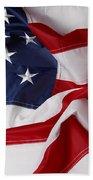 American Flag 34 Bath Towel