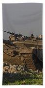 An Israel Defense Force Merkava Mark Iv Bath Towel