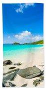 Beautiful Caribbean Beach Bath Towel