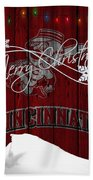 Cincinnati Reds Bath Towel
