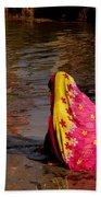 Hampi Ghats Bath Towel
