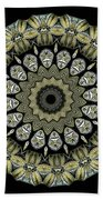 Kaleidoscope Ernst Haeckl Sea Life Series Bath Towel