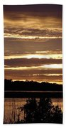 Outer Banks North Carolina Sunset Bath Towel
